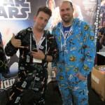 These folks were selling Star Wars pyjamas.