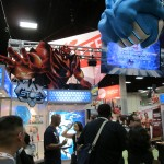 The Mattel booth featuring Max Steel.