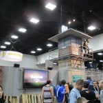 The booth for The Walking Dead television show.