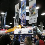 The Square Enix booth.