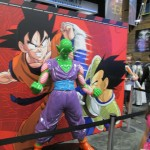 A statue of Piccolo at the Funimation booth.