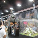 Blurry image of The Hobbit displays.