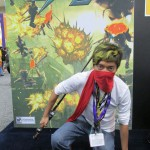 Me in the free Strider mask they gave away!