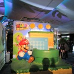 An area to take your photograph in a Super Mario 3D World diorama.