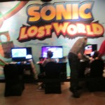 Demo stations for Sonic Lost World.