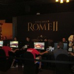 Demo stations for Total War: Rome II.